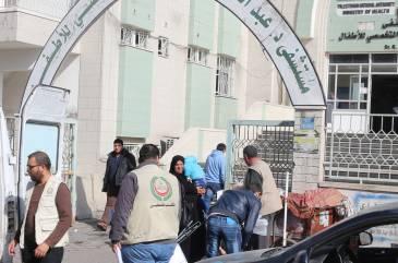 اتحاد الأطباء العرب يجهز المطبخ الرئيسي لعدد من مستشفيات الأطفال في غزة