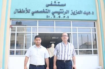 الأطباء العرب يزود مستشفى الرنتيسي بأدوات ربط المريء