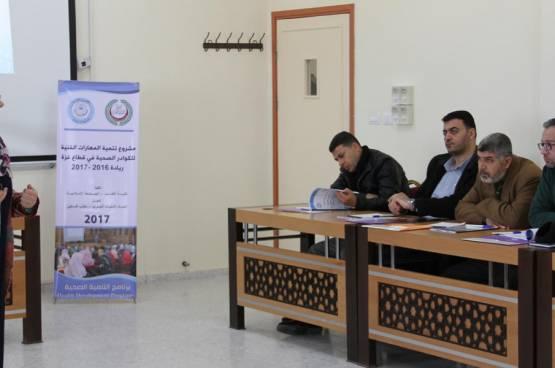 الأطباء العرب يفتتح مشروع تنمية المهارات الفنية للكوادر الصحية