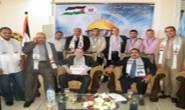وصول وفد لجنة الاغاثة والطوارئ لقطاع غزة مصطحباً معه قافلة طبية بقيمة مئتين وتسعين الف دولا 290.000