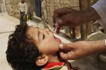 وقف تفشي مرض شلل الأطفال المدمر في الشرق الأوسط تقريبا