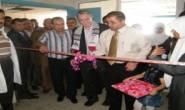 افتتاح كشك الولادة بمجمع الشفاء بحضور الامين العام للجنة الاغاثة والطوارئ د. ابراهيم الزعفراني