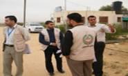 جولة زيارات لجنة الإغاثة لمناطق صوفا وبني سهيلا ومناطق في خانيونس