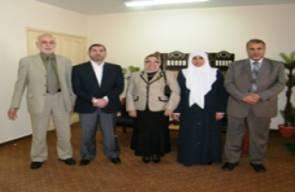 زيارة الاستاذة الدكتورة : دينا شكري . استاذ ورئيس قسم الطب الشرعى كلية الطب -جامعة القاهرة