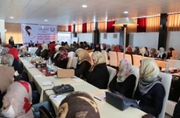 مشروع تعزيز الوعي الصحي لدى طالبات المدارس في قطاع غزة