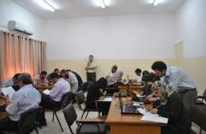 برنامج تدريب الكوادر الطبية في قطاع غزة - وزارة الصحة الفلسطينية