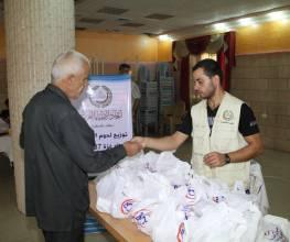 مشروع توزيع لحوم الأضاحي